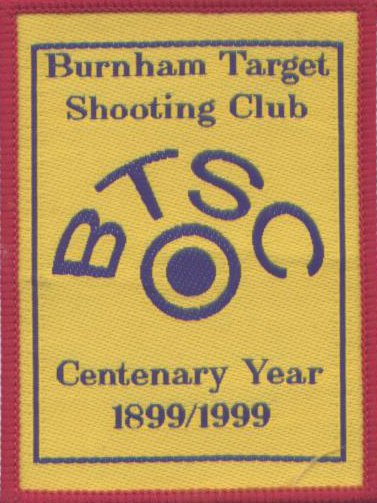 Cloth Badge celebrating our 100th year