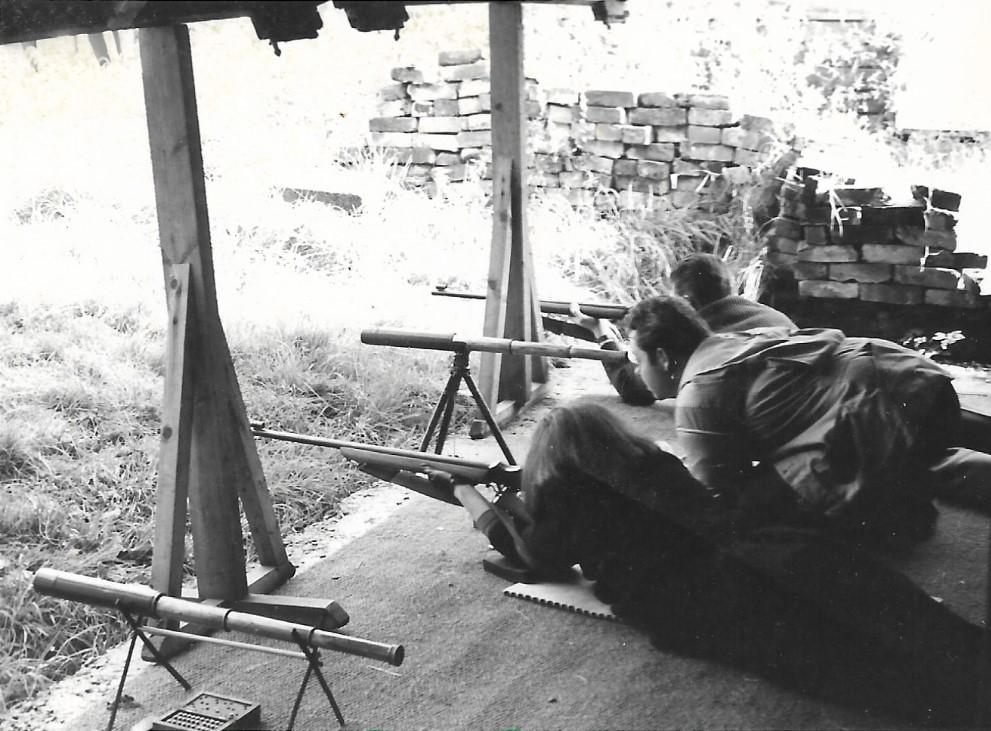 Burnham Rifle and Pistol Club 50m Range 1963